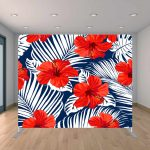 Red and Blue Tropic